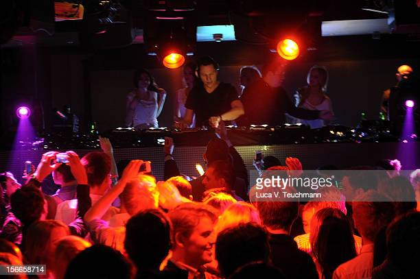 Tiesto attends 'Guess Presents Tiesto' at P1 on November 15 2012 in Munich Germany