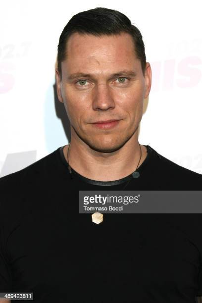 Tiesto attends the 1027 KIIS FM's 2014 Wango Tango held at the StubHub Center on May 10 2014 in Los Angeles California
