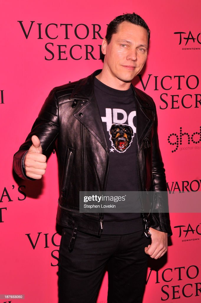 <a gi-track='captionPersonalityLinkClicked' href=/galleries/search?phrase=DJ+Tiesto&family=editorial&specificpeople=2607549 ng-click='$event.stopPropagation()'>DJ Tiesto</a> attends the 2013 Victoria's Secret Fashion Show at TAO Downtown on November 13, 2013 in New York City.