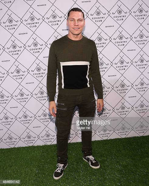 Tiesto attends the Refinery29 Country Club launch event at 82 Mercer on September 4 2014 in New York City