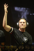 Tiesto performs during the Ultra Music Festival at Bayfront Park Amphitheater on March 27 2015 in Miami Florida