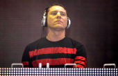 Tiesto performs during the Ultra Music Festival at Bayfront Park Amphitheater on March 28 2014 in Miami Florida