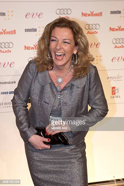 Tietjen Bettina Presenter Germany at the Live Entertainment Award in Hamburg Germany Color Line Arena