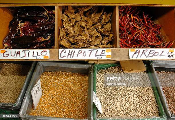 May 5 2006 Guajillo Chipotle and Arbol peppers supplied to Perola Supermarket in Toronto's Kensington Market by TIFCO a Torontobased company that...