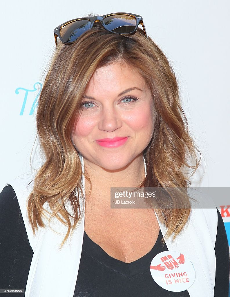 Tiffani Thiessen attends the Milk Bookies 6th Annual Story Time Celebration on April 19 2015 in Los Angeles California