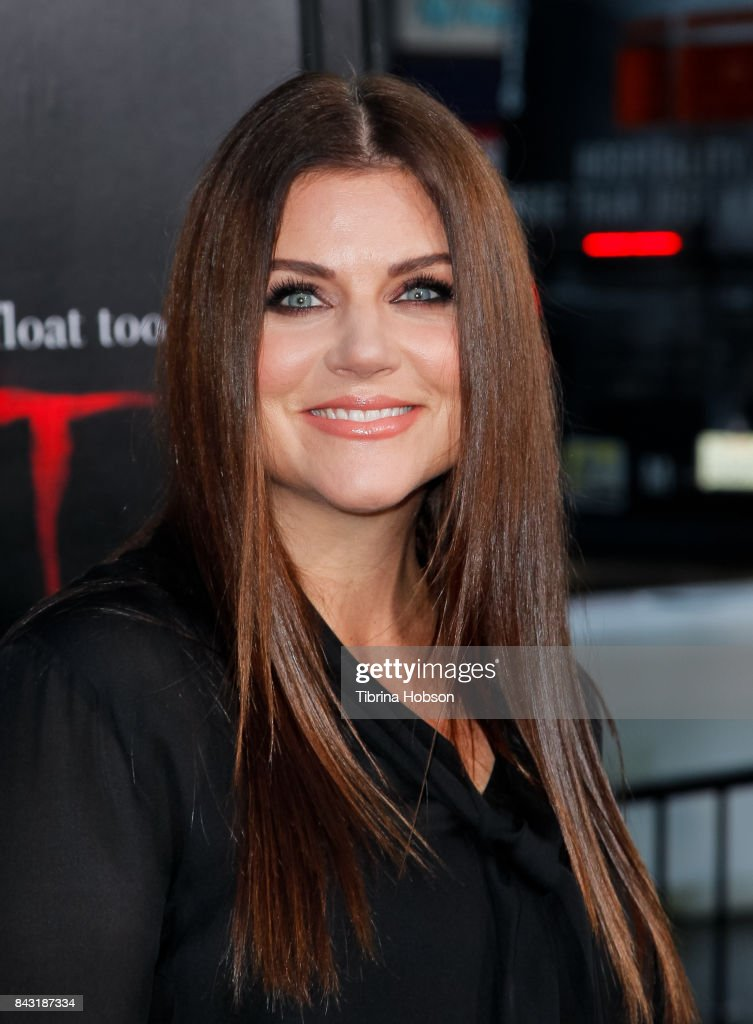 Tiffani Thiessen attends the premiere of 'It' at TCL Chinese Theatre on September 5, 2017 in Hollywood, California.