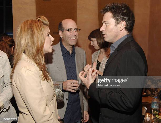 TiffaniAmber Thiessen Matt Blank Chairman and CEO of Showtime and Tim Daly