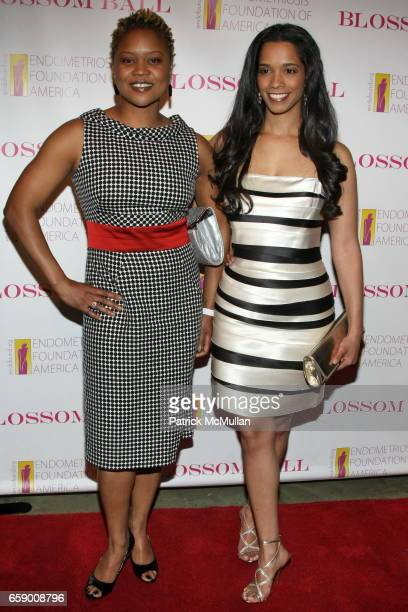 Tiffany Barbour and Stephanie St James attend The BLOSSOM BALL To Benefit The Endometriosis Foundation of America at The Prince George Ballroom on...