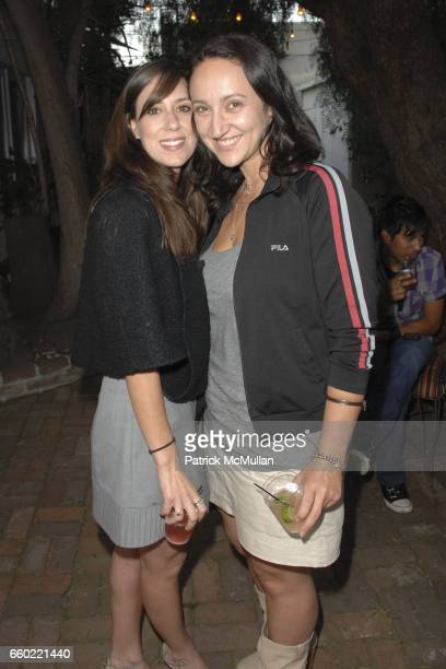 TIffany Caronia and Hellin Kay attend Rose Apodaca and Andy Griffith Invite You To Meet George Esquivel at Esquivel House on June 18 2009 in Los...
