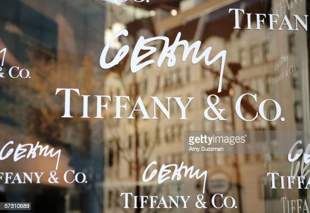 Tiffany Co celebrates of the launch of Frank Gehry's premier collection held at Tiffany Co on Fifth Avenue April 10 2006 in New York