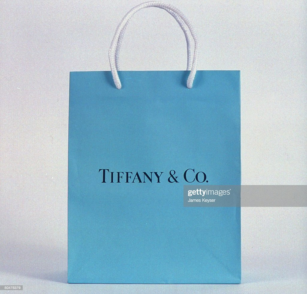 Tiffany & Co. shopping bag. (Photo by J Pictures | Getty Images