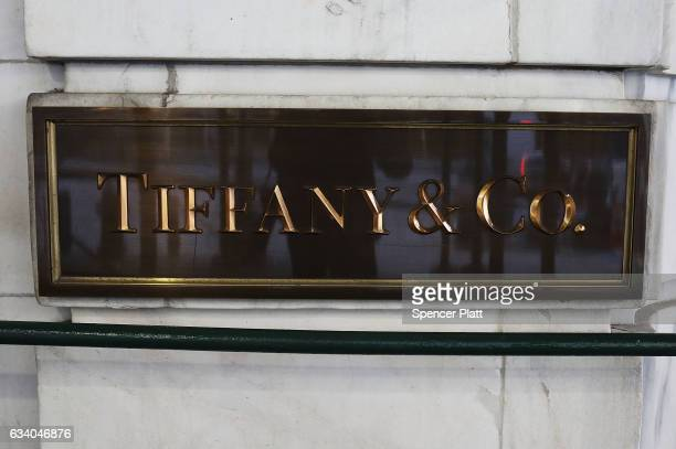 Tiffany Co store stands in lower Manhattan on February 6 2017 in New York City Following disappointing financial resultsTiffany Co abruptly replaced...