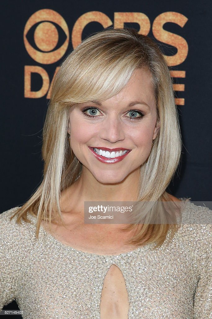Tiffany Coyne arrives at the CBS Daytime Emmy After Party at Alexandria Ballrooms on May 1, 2016 in Los Angeles, California.