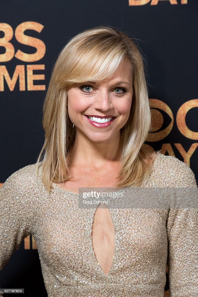 Tiffany Coyne arrives at the CBS Daytime Emmy After Party at the Alexandria Ballrooms on May 1, 2016 in Los Angeles, California.
