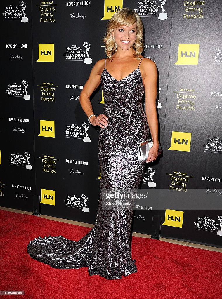Tiffany Coyne attends 39th Annual Daytime Emmy Awards at The Beverly Hilton Hotel on June 23, 2012 in Beverly Hills, California.