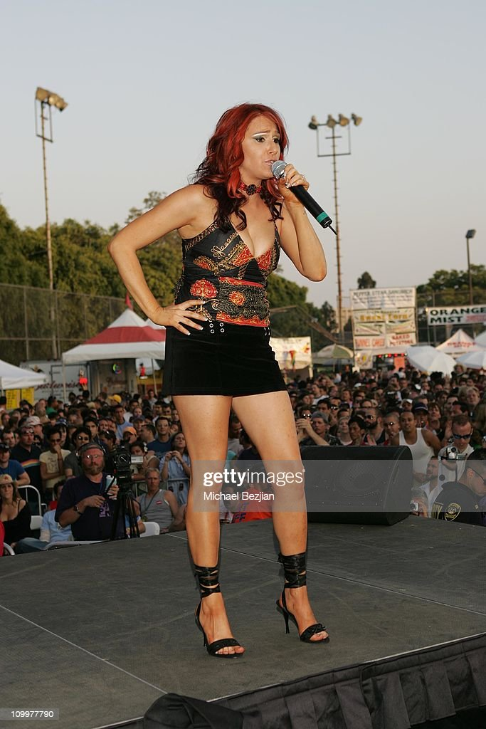 Tiffany during 2005 LA Pride Day 2 at West Hollywood Park in West Hollywood California United States