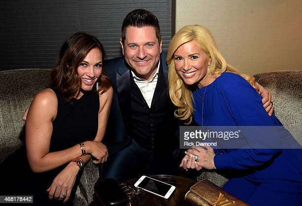 Tiffany Fallon Rascal Flatts' Jay DeMarcus and Allison DeMarcus attend the TJ Martell Foundation's 7th Annual Nashville Honors Gala at Omni Hotel...