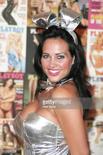 Tiffany Fallon US Playmate of the Year 2005 during Playboy Exposed Photocall October 19 2005 at Proud Camden The Gin House in London Great Britain