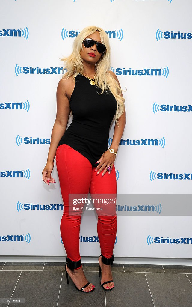 Tiffany Foxx visits the SiriusXM Studios on June 11, 2014 in New York City.