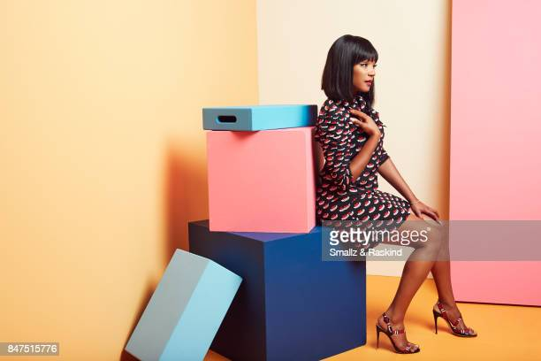Tiffany Haddish of Turner Networks 'TBS/The Last OG' poses for a portrait during the 2017 Summer Television Critics Association Press Tour at The...