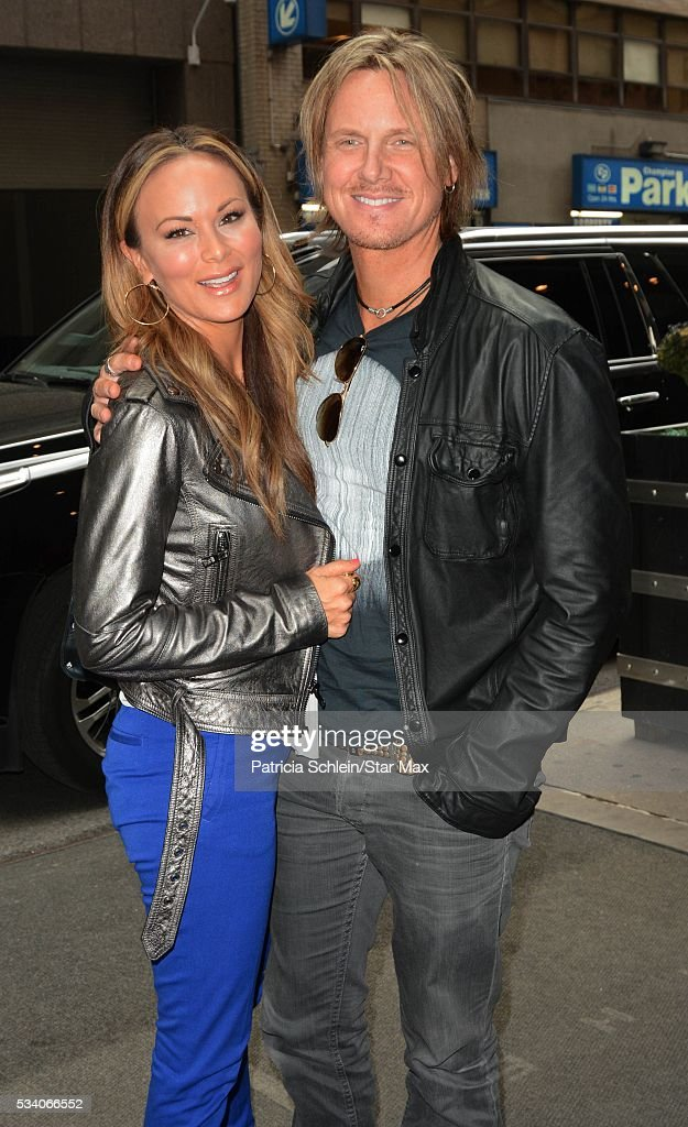 Tiffany Hendra and Aaron Hendra are seen on May 24, 2016 in New York City.
