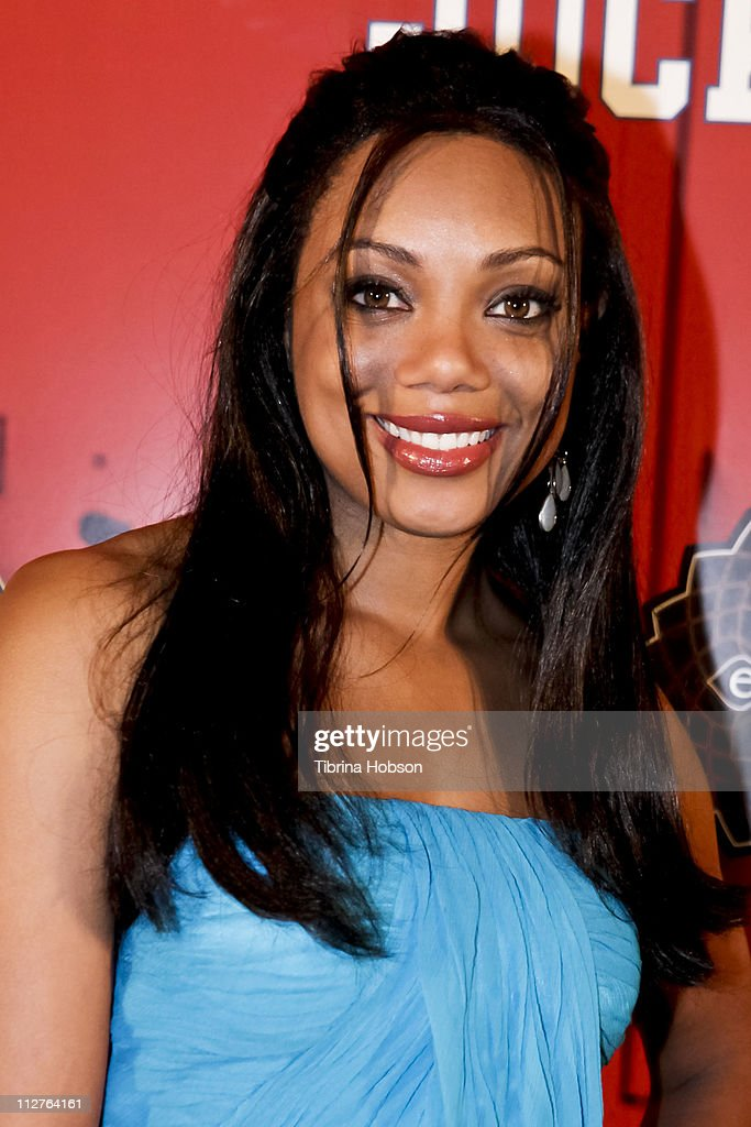 Tiffany Hines arrives to the 'Jock Itch' Book Release Party at Eden on April 20, 2011 in Hollywood, California.
