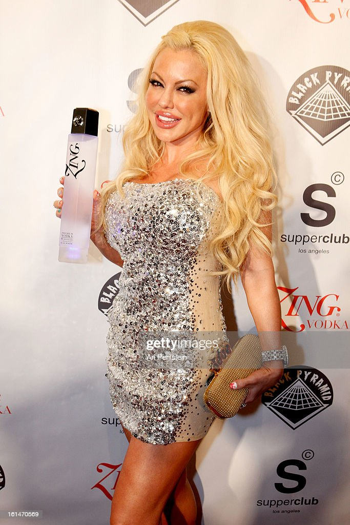 Tiffany Holiday arrives at Post Grammy Party At Supperclub Hosted By Chris Brown And ZING Vodka Los Angeles on February 10, 2013 in Los Angeles, California.