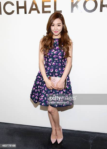 Tiffany Hwang attends Michael Kors at Spring Studios on February 18 2015 in New York City