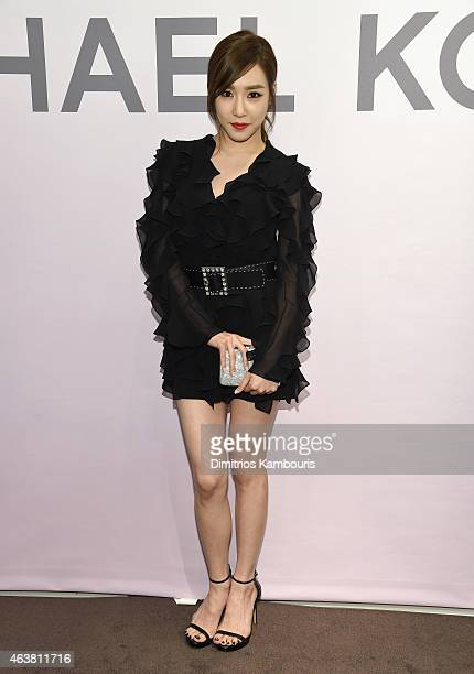 Tiffany Hwang attends the Michael Kors Miranda Eyewear Collection Event on February 18 2015 in New York City