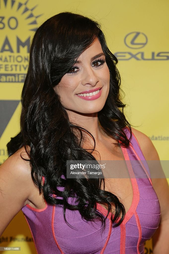 Tiffany Perez attends 'Eenie Meenie Miney Moe' Premiere during the 2013 Miami International Film Festival at Gusman Center for the Performing Arts on March 7, 2013 in Miami, Florida.