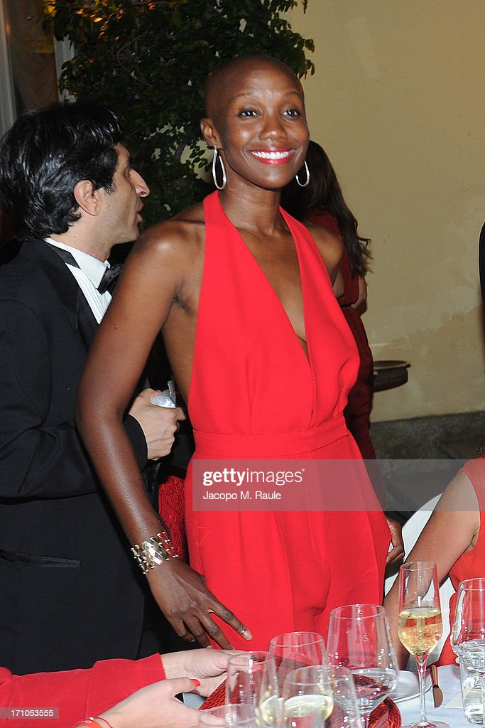 Tiffany Persons attends Cash & Rocket On Tour Women for Women - Gala Dinner and Auction on June 16, 2013 in Rome, Italy.