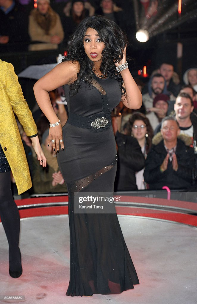 Tiffany Pollard is evicted from the Big Brother house at Elstree Studios on February 5, 2016 in Borehamwood, England.