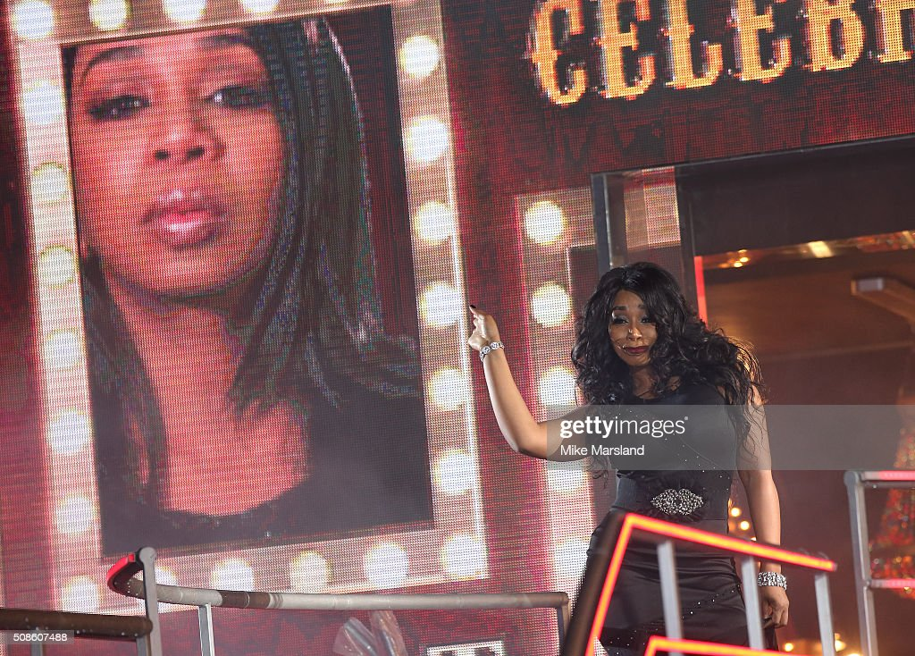 Tiffany Pollard is evicted from the Celebrity Big Brother House at Elstree Studios on February 5, 2016 in Borehamwood, England.