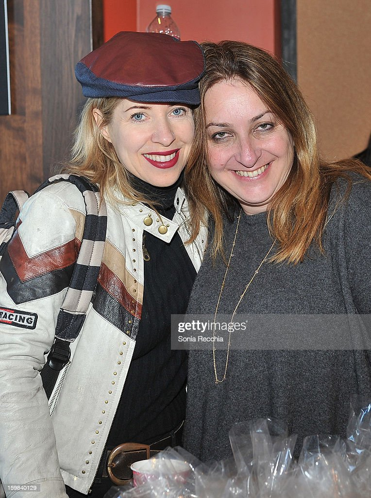 Tiffany Shilain and Caroline Librsco attend the Women at Sundance Brunch during the 2013 Sundance Film Festival on January 21, 2013 in Park City, Utah.