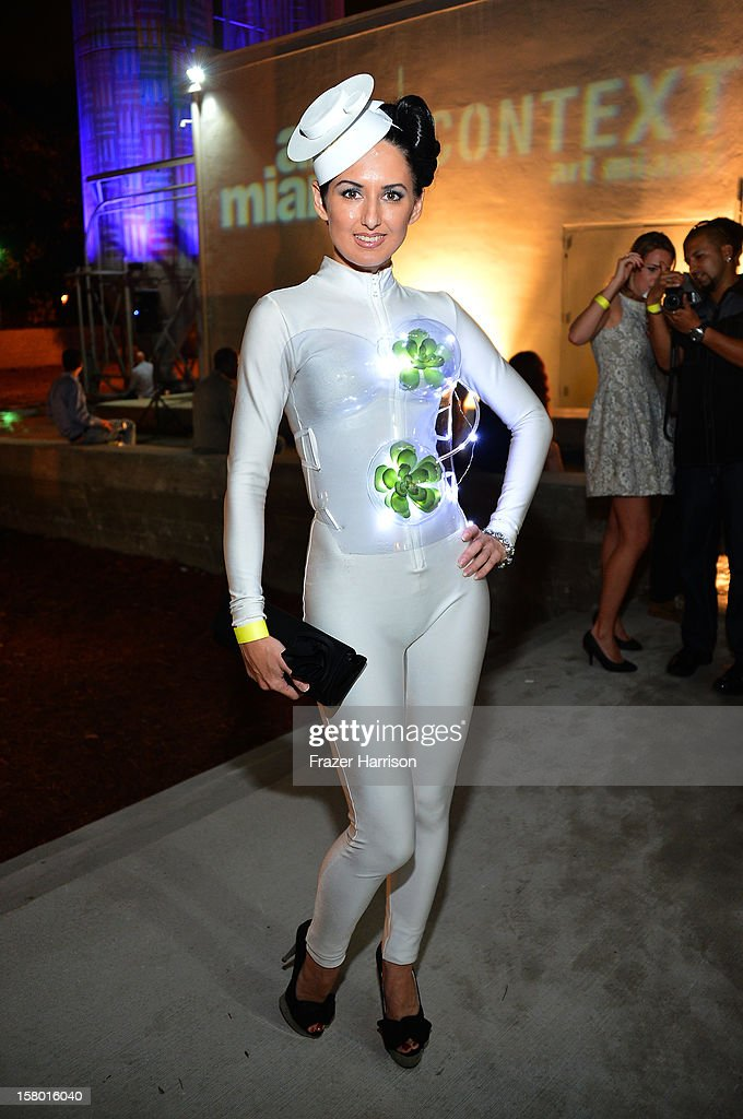 Tiffany Trenda attends the Art Miami after party at Bakehouse Art Complex on December 8, 2012 in Miami, Florida.