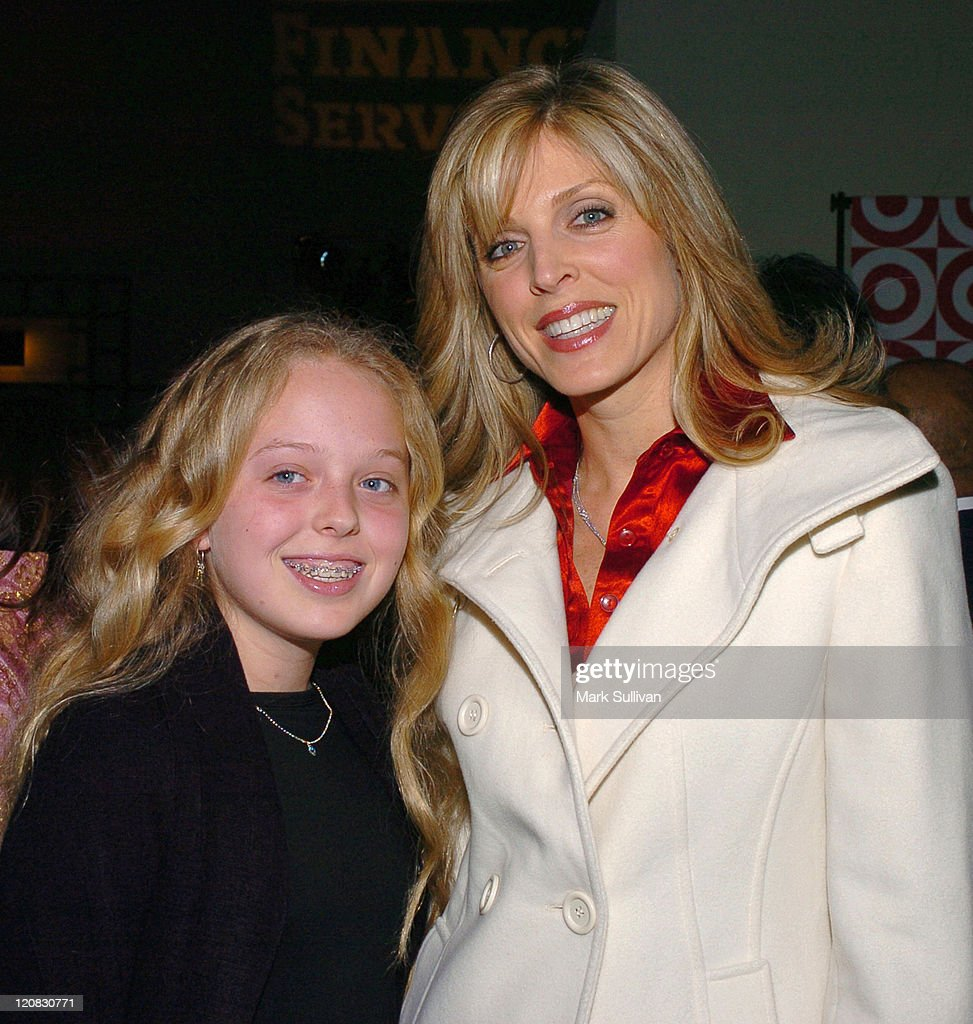 Tiffany Trump and Marla Maples during The Debbie Allen Dance Academy Presents 'Dreams' Reception at Freud Playhouse in Westwood California United...