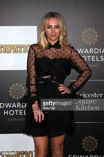 Tiffany Watson attends the 'Day Of The Dead' party at Leicester Square Kitchen on November 2 2017 in London England