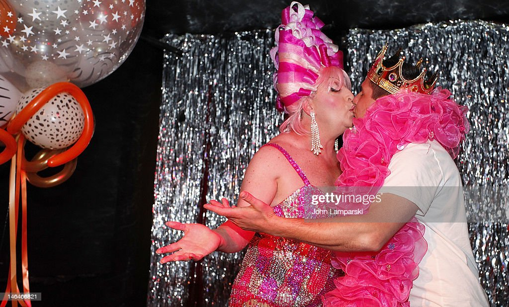 Tiffany Wells and Alex Carr attend Alex Carr's birthday celebration at The Stonewall Inn on June 16, 2012 in New York City.