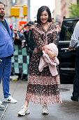 Celebrity Sightings in New York City - October 15, 2018