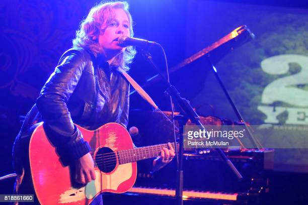 Tift Merritt attends RAINFOREST ACTION NETWORK's 25th Anniversary Benefit Hosted by CHRIS NOTH at Le Poisson Rouge on April 29 2010 in New York City