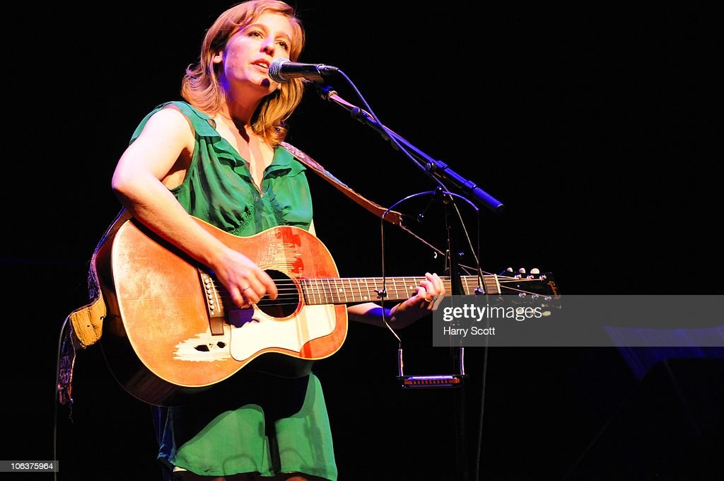 Mary Chapin Carpenter and Tift Merritt Perform At The Barbican Centre In London