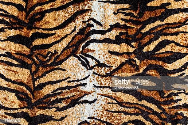 Tiger fur fabric