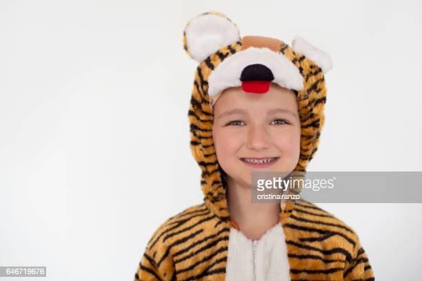 Tiger happy