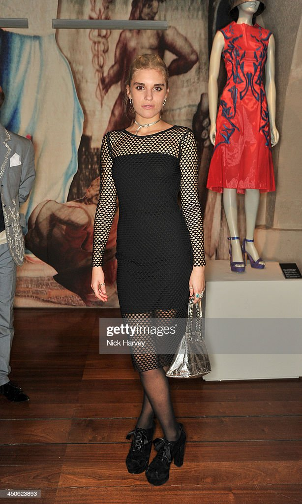 Tiger Lily Taylor attends the private view of Isabella Blow: Fashion Galore! Party at Somerset House on November 19, 2013 in London, England.