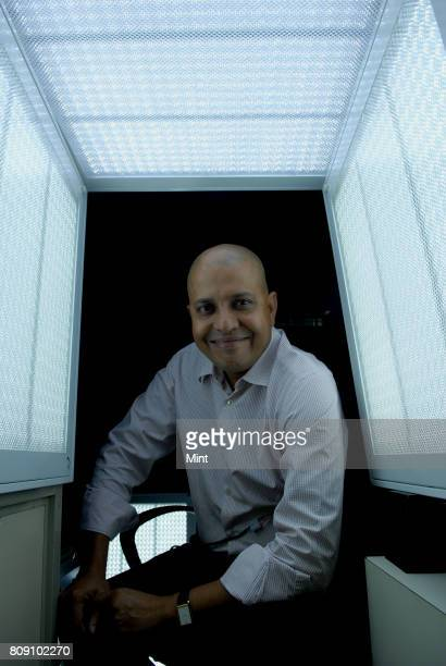 Tiger Ramesh MD of Vignani Solutions PvtLtd photographed during an interview with Mint at ING Vysya house in Bangalore