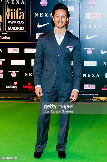 Tiger Shroff attends IIFA Awards 2016 Rocks Green Carpet at Ifema on June 24 2016 in Madrid Spain