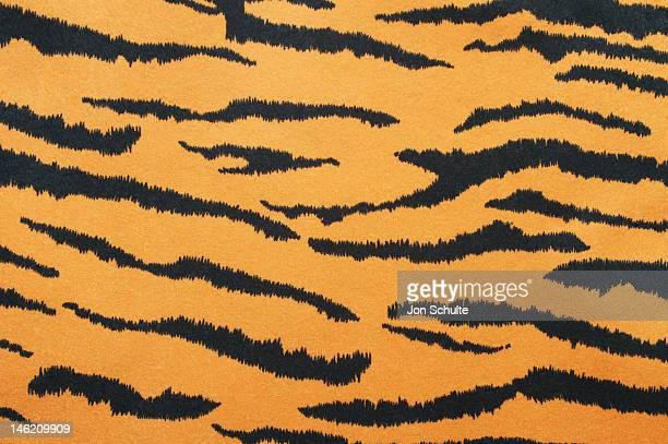 Tiger striped print background