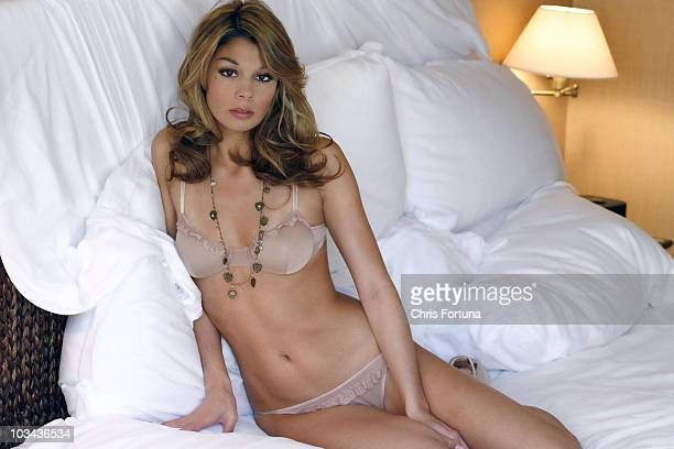 Tiger Wodds' alleged mistress Jaimee Grubbs poses at a portrait session for Maxim in Los Angeles CA on February 1 2011 PUBLISHED IMAGE ON DOMESTIC...