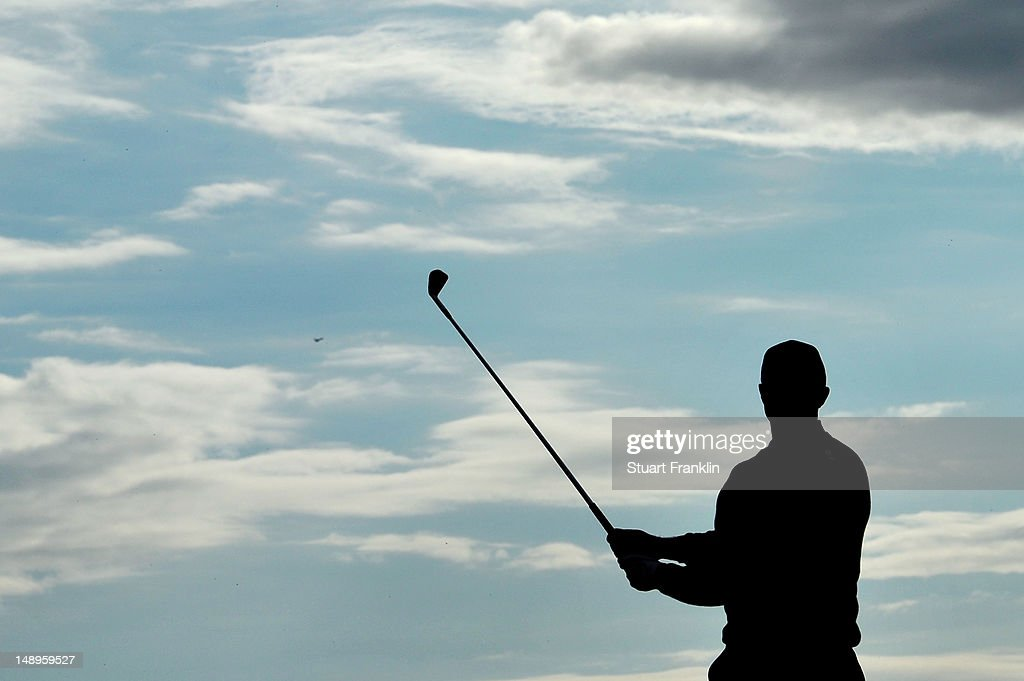 <a gi-track='captionPersonalityLinkClicked' href=/galleries/search?phrase=Tiger+Woods&family=editorial&specificpeople=157537 ng-click='$event.stopPropagation()'>Tiger Woods</a> of the United States watches his tee shot on the 15th hole during the second round of the 141st Open Championship at Royal Lytham & St Annes Golf Club on July 20, 2012 in Lytham St Annes, England.