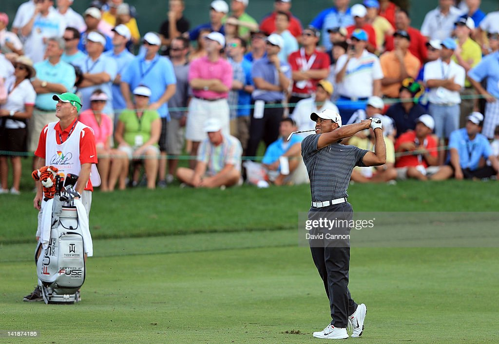 <a gi-track='captionPersonalityLinkClicked' href=/galleries/search?phrase=Tiger+Woods&family=editorial&specificpeople=157537 ng-click='$event.stopPropagation()'>Tiger Woods</a> of the USA during the third round of the 2012 Arnold Palmer Invitational presented by MasterCard at Bay Hill Club and Lodge on March 24, 2012 in Orlando, Florida.